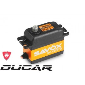 SAVOX SV-1270TG HIGTH VOLTAGE MONSTER TORQUE TITANIUM