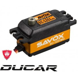 SAVOX SC-1251MG digital servo SERVO LOW PROFILE