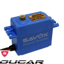 SAVOX SW-0230MG Waterproof HV Metal Gear