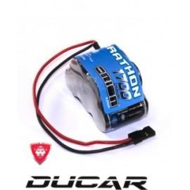 ORI12244 Marathon 1700 Receiver Pack Hump NiMH (6.0V) w/Universal Plug 20
