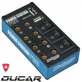 Power Station Pro Multi Distributor Blue (with Tow USB Charg