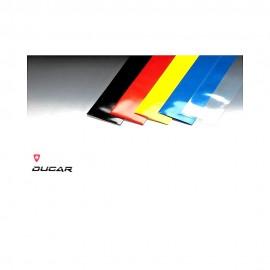 ROBBE Termoretraibile colore ROSSO 70 X 100 mm