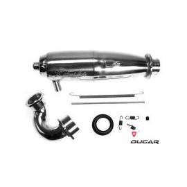 VZW210 SC Tuned Silencer Set for R4 KYOSHO