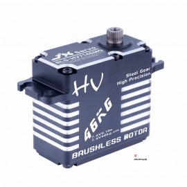 BLS-HV7146MG 46KG HV High Precision Steel Gear Full CNC Aluminium Shell Structure Digital Brushless Standard Servo
